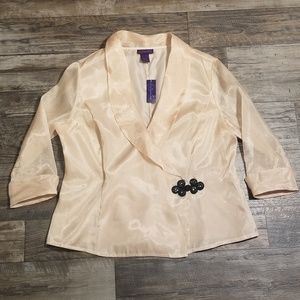 🍁 NWT Metaphor Sheer Blazer